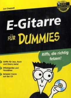 E-Gitarre für Dummies, m. Audio-CD