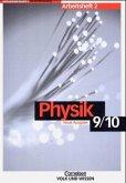 Physik für die Sekundarstufe 1. 9./10. Arbeitsheft 2. Brandenburg. Neue Ausgabe