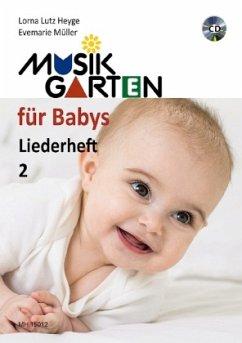 Musikgarten für Babys, Liederheft, m. Audio-CD