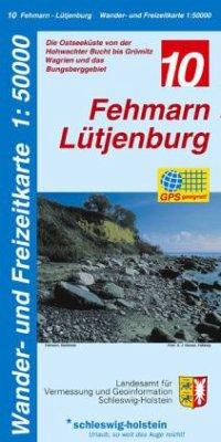 Wander- und Freizeitkarte Fehmarn-Lütjenburg