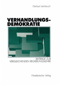 Verhandlungsdemokratie - Lehmbruch, Gerhard