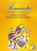 Romantic Pop Piano, Gold Edition, m. Audio-CD