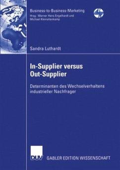 In-Supplier versus Out-Supplier - Luthardt, Sandra