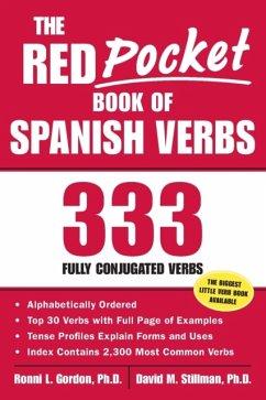 The Red Pocket Book of Spanish Verbs - Gordon, Ronni; Stillman, David