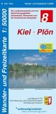 Wander- und Freizeitkarte Kiel, Plön