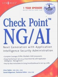 Check Point Next Generation with Application Intelligence Security Administration - Syngress