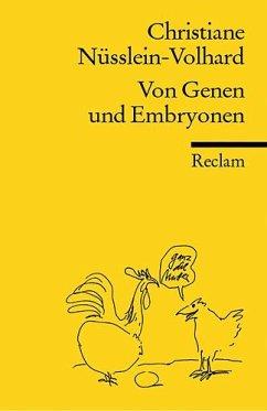 Von Genen und Embryonen - Nüsslein-Volhard, Christiane