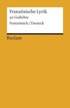 Französische Lyrik - Stackelberg, Jürgen von (Hrsg.)