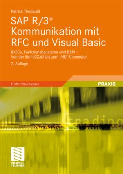 SAP R/3 Kommunikation mit RFC und Visual Basic - Theobald, Patrick