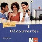 2 Schüler-Audio-CDs, 1. Lernjahr / Découvertes Bd.1