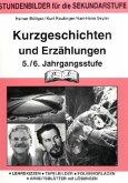 Kurzgeschichten und Erzählungen 5./6. Jahrgangsstufe