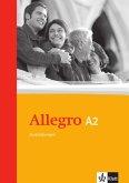 Allegro A2. Grammatische Zusatzübungen. Mit Lösungen