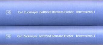 Briefwechsel, 2 Bde. - Zuckmayer, Carl; Bermann Fischer, Gottfried