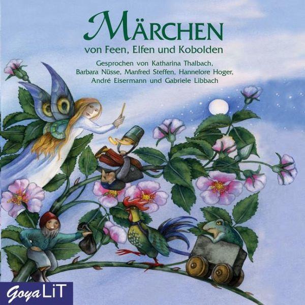 Märchen von Feen, Elfen und Kobolden, 1 Audio-CD - Hörbuch