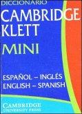 Diccionario Cambridge Klett Mini. Espanol - Ingles / English - Spanish