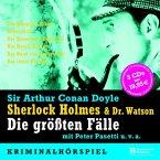Sherlock Holmes & Dr. Watson, Die größten Fälle, 5 Audio-CDs