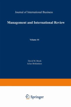 Management and International Review - Brock, David M. / Birkinshaw, Julian (Hgg.)