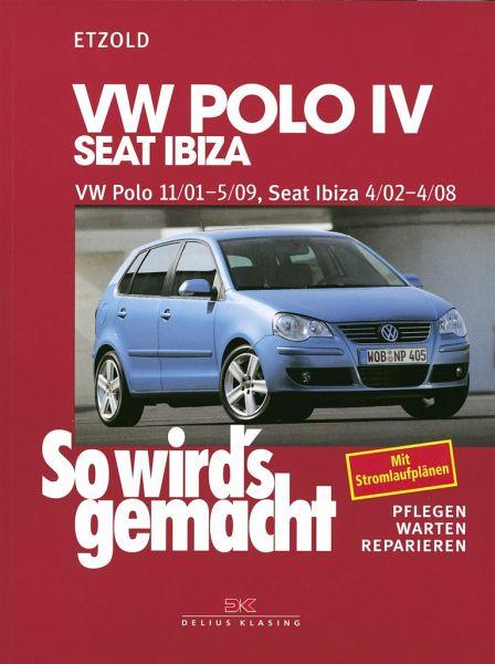 so wird's gemacht. vw polo ab 11/01, seat ibiza ab 4/02 von rüdiger