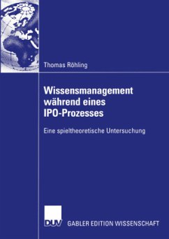 Wissensmanagement während eines IPO-Prozesses