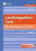 Lesekompetenz-Tests 5/6, Band 1