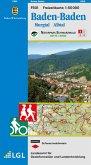 Topographische Freizeitkarte Baden-Württemberg Baden-Baden
