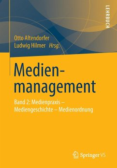 Medienmanagement - Altendorfer, Otto / Hilmer, Ludwig (Hrsg.)
