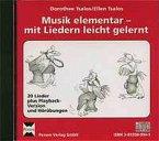 Musik elementar - mit Liedern leicht gelernt, 1 Audio-CD