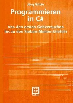 Programmieren in C++ - Witte, Jörg
