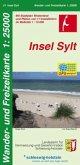 Wander- und Freizeitkarte Insel Sylt