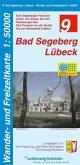 Wander- und Freizeitkarte Bad Segeberg, Lübeck