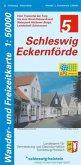 Wander- und Freizeitkarte Schleswig, Eckernförde