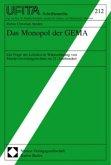 Das Monopol der GEMA