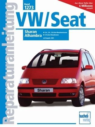 vw sharan seat alhambra ab 2001 buch. Black Bedroom Furniture Sets. Home Design Ideas