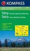 Kompass Karte Tatra - Hohe, Westliche, Belaer; Tatry - Vysoké, Západné, Belianske