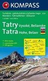 Kompass Karte Tatra - Hohe, Belaer; Tatry - Vysoké, Belianske