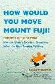 How Would You Move Mount Fuji?