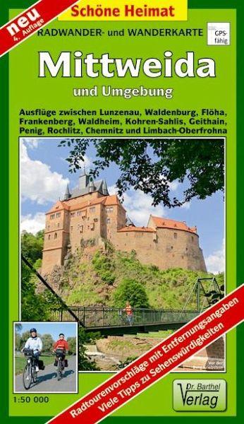 Karte Chemnitz Und Umgebung.Doktor Barthel Karte Mittweida Und Umgebung