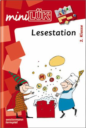 Lesestation 2. Klasse / mini LÜK, Übungshefte
