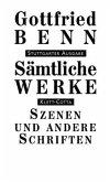 Szenen und andere Schriften / Sämtliche Werke, Stuttgarter Ausg. Bd.7/1, Tl.1