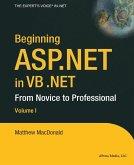 Beginning ASP.NET in VB .NET