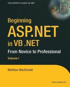 Beginning ASP.NET in VB .NET - MacDonald, Matthew