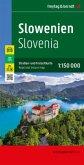 Freytag & Berndt Autokarte Slowenien; Slovenija; Slovenie. Slovenia. Slovénie