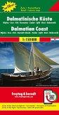 Freytag & Berndt Autokarte Dalmatinische Küste; Dalmatinski obala; Dalmatische kust; Dalmatian Coast; Cote Dalmatie; Cos