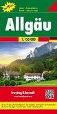Freytag & Berndt Autokarte Allgäu; Algovia
