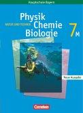 Natur und Technik. Neue Ausgabe. Physik/ Chemie/ Biologie 7. Schülerbuch. Hauptschule Bayern
