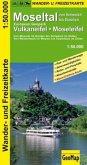 GeoMap Karte Moseltal von Schweich bis Dieblich, European Geopark Vulkaneifel, Moseleifel