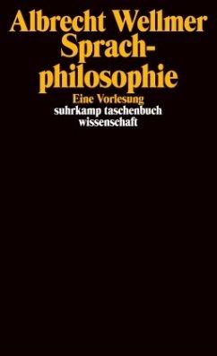 Sprachphilosophie - Wellmer, Albrecht