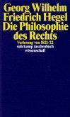 Georg Wilhelm Friedrich Hegel - Philosophie des Rechts