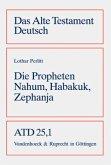 Die Propheten Nahum, Habakuk, Zephanja