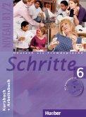 Schritte 6. Kursbuch und Arbeitsbuch mit Audio-CD zum Arbeitsbuch